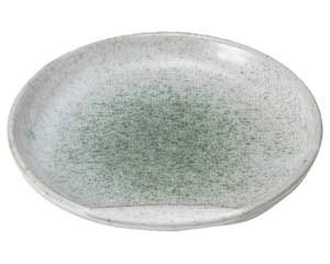 新緑 5.0半月皿