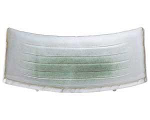 新緑 6.0反長角皿