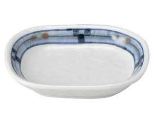 キューヴ 小判豆皿