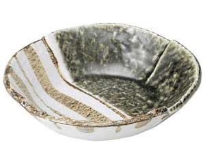 織部ストライプ 6.5丸鉢