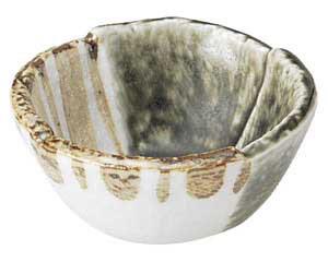 織部ストライプ 3.0丸小鉢