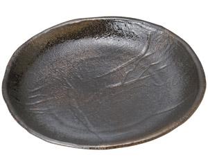 琥珀 9号丸皿