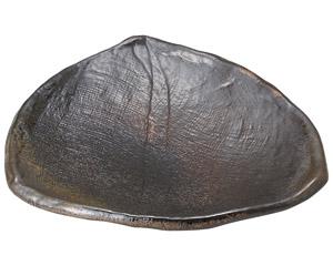 琥珀 三方皿(小)