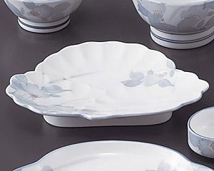 はなぶさ(強化)松形和皿