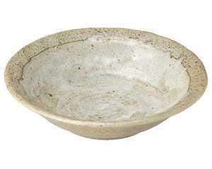 粉引き 石目5.0鉢