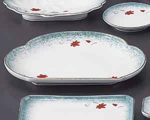 ひすい吹吉祥(強化)松型天皿