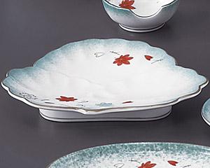 ひすい吹吉祥(強化)松型和皿