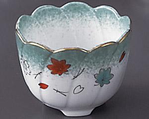 ひすい吹吉祥(強化)ねじり型小鉢