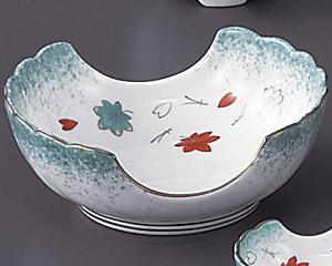 ひすい吹吉祥(強化)二方切刺身鉢