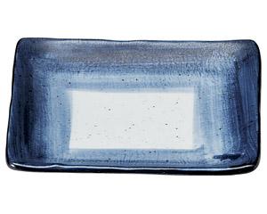 藍彩 角5.5皿