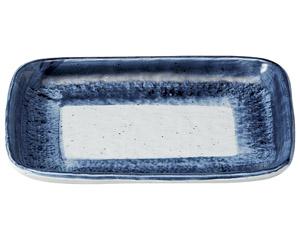 藍彩 7.0焼物皿