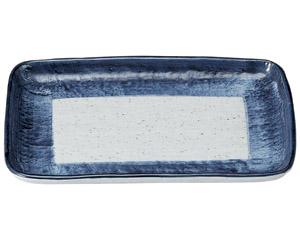 藍彩 9.0焼物皿