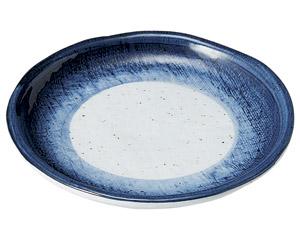 藍彩 玉渕5.5丸皿