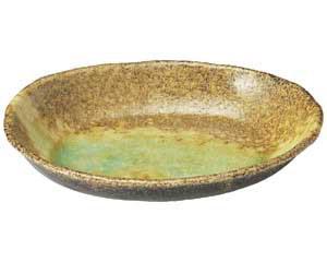 岩清水 楕円大鉢