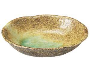 岩清水 楕円鉢
