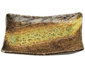岩清水 角型大盛皿