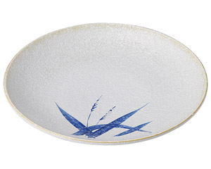 白淡雪ススキ 丸7.0皿