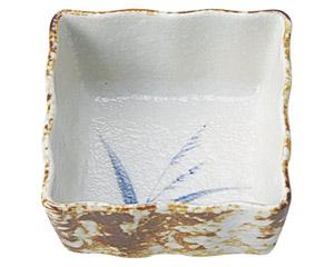 白淡雪ススキ 正角3.6小鉢