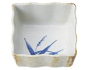 白淡雪ススキ 正角4.0小鉢