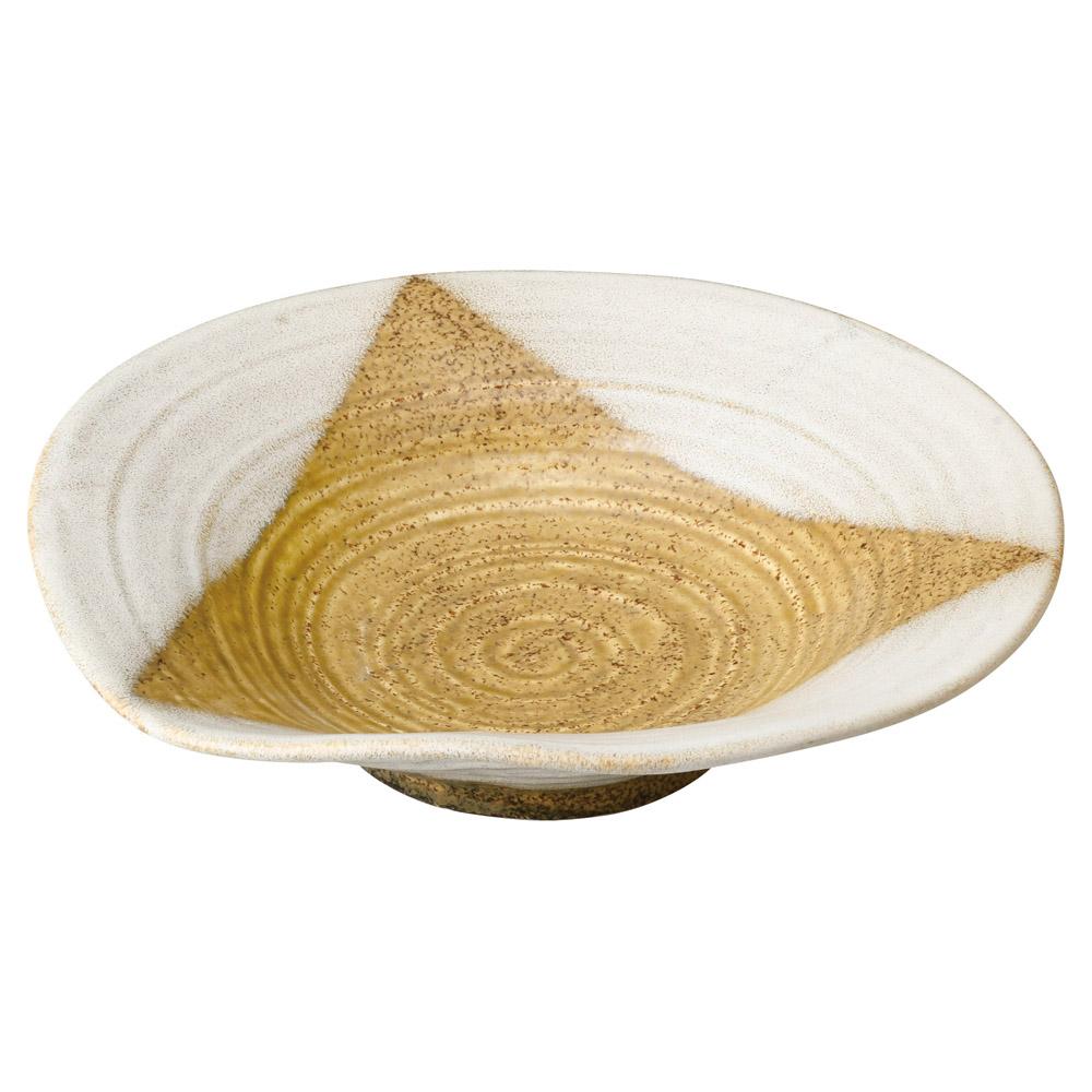 黄河三方掛け 9.0浅鉢