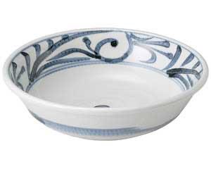 古代唐草 9.0丸鉢