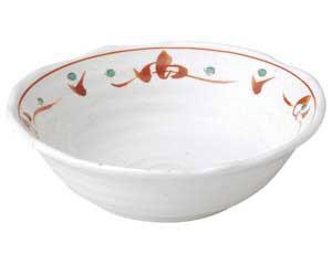 赤絵唐草紋 5.5鉢