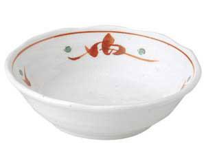 赤絵唐草紋 4.5鉢