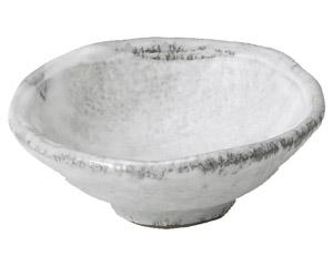 白刷毛目 4号深小鉢