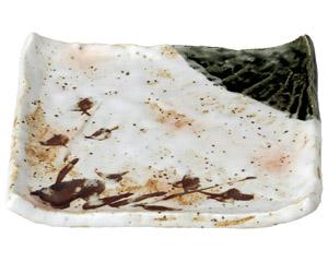 白タタキサビ木 正角天皿