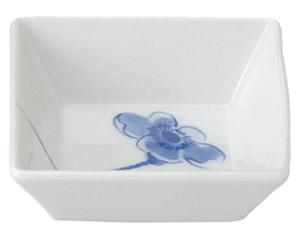 ブルーポピー 角小鉢