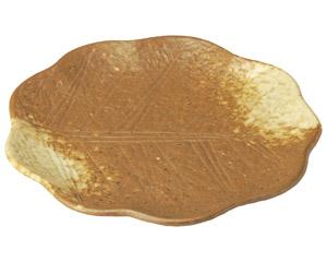 イラボ白吹 木の葉型7.0皿