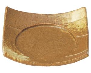 イラボ白吹 5.0四方皿
