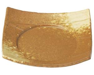 イラボ白吹 6.0四方皿
