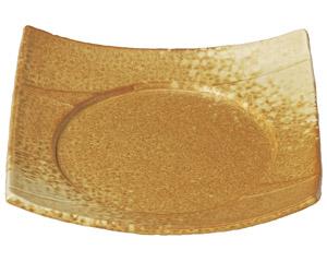 イラボ白吹 7.5四方皿