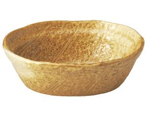 イラボ白吹 木の葉型5.3多用鉢