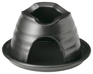 黒釉 土瓶コンロ