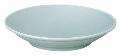青彩 8.0フカヒレ皿(青磁中華)
