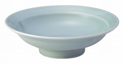 青彩 6.0丸高台皿(青磁中華)