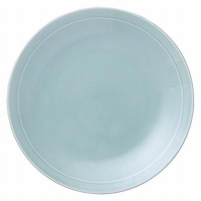 青彩 リム8.0皿(青磁中華)