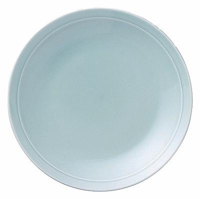 青彩 リム7.0皿(青磁中華)