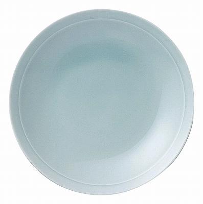 青彩 リム6.0皿(青磁中華)