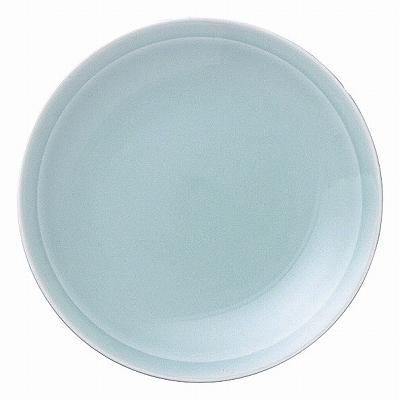 青彩 リム5.0皿(青磁中華)
