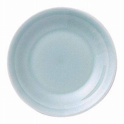 青彩 リム3.5皿(青磁中華) 画像