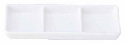 白翔 スタック3連皿(白磁中華)