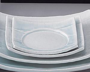 強化青白磁6.0四方皿