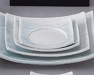 強化青白磁7.5四方皿