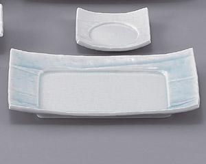 強化青白磁9.0長角皿