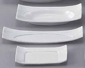 強化青白磁12.0長角皿
