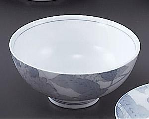 京華あじさい丸茶漬碗