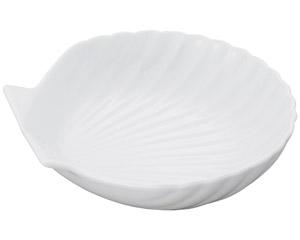 白磁シェル白6.0サラダ鉢